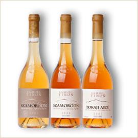 Samuel Tinon Tokaji Botritiszt tartalmazó borok